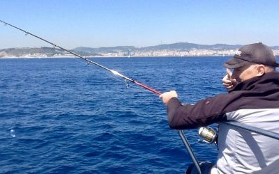 Toni fishing guide in Barcelona with charterinad